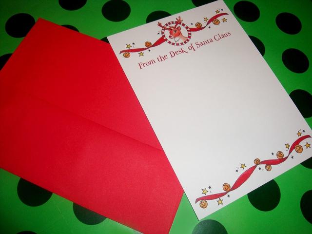 Christmas Santa Flat Notes