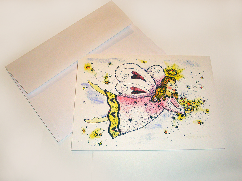 Heavenly Angel Greeting Card