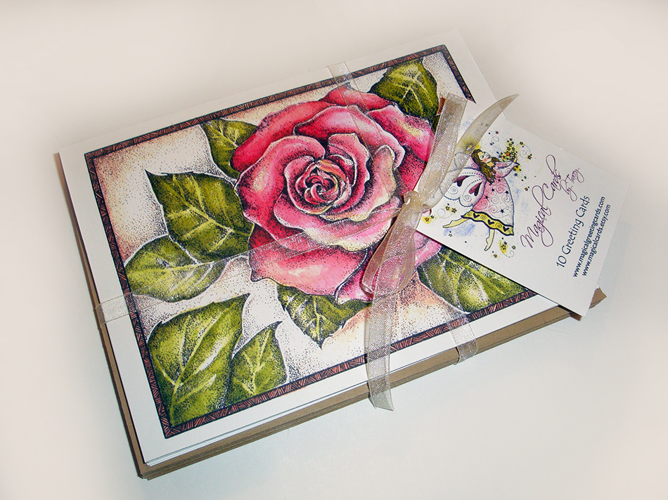Garden Rose Greeting Cards